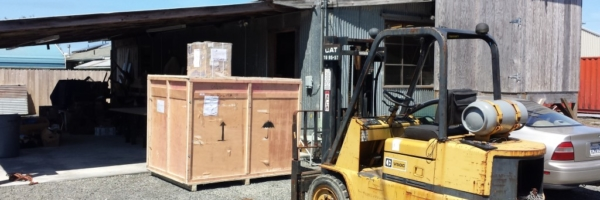 WoodLab Designs Forklift & Crating Capabilities
