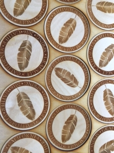 Graeagle California Gathering Commemorative Coasters