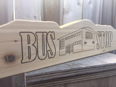 WoodLab Designs Laser Etched CNC cut Sign