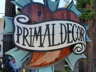 WoodLab Designs collaboration Tattoo Parlor Sign