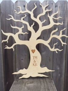 WoodLab Designs Marathon Metal Hanging Tree Artwork