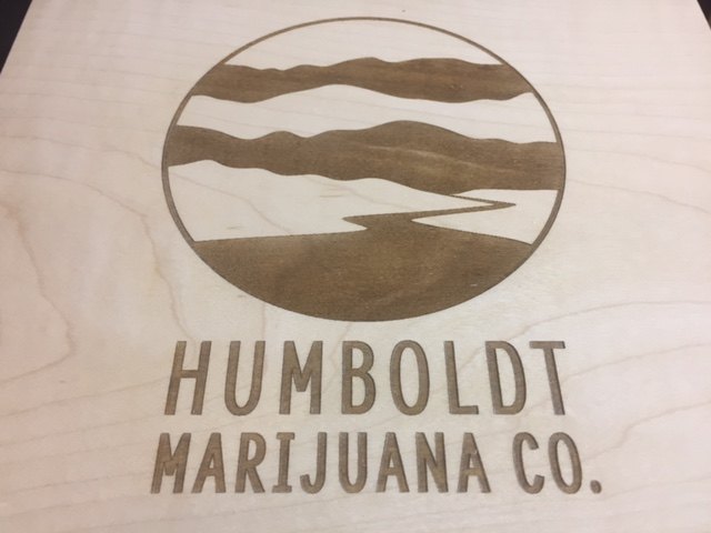 WoodLab Designs Baltic Birch Humboldt Marijuana Co. Sign