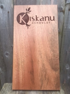 WoodLab Designs Laser Etched branded Kiskanu Menu Board