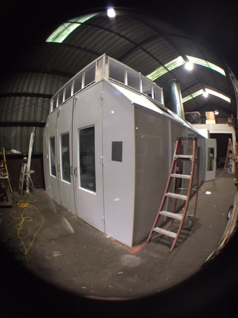 WoodLab Designs Finishing Room Spray Booth