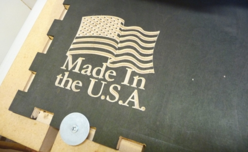 Made in the USA signage