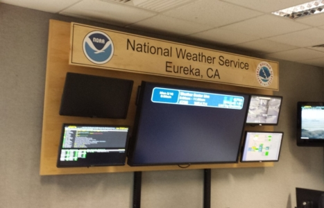 WoodLab Designs Airport National Weather Service Hand Painted wooden sign