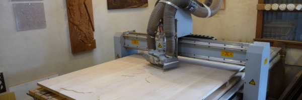 WoodLab Designs CNC Routing for Wood Inlay Detail