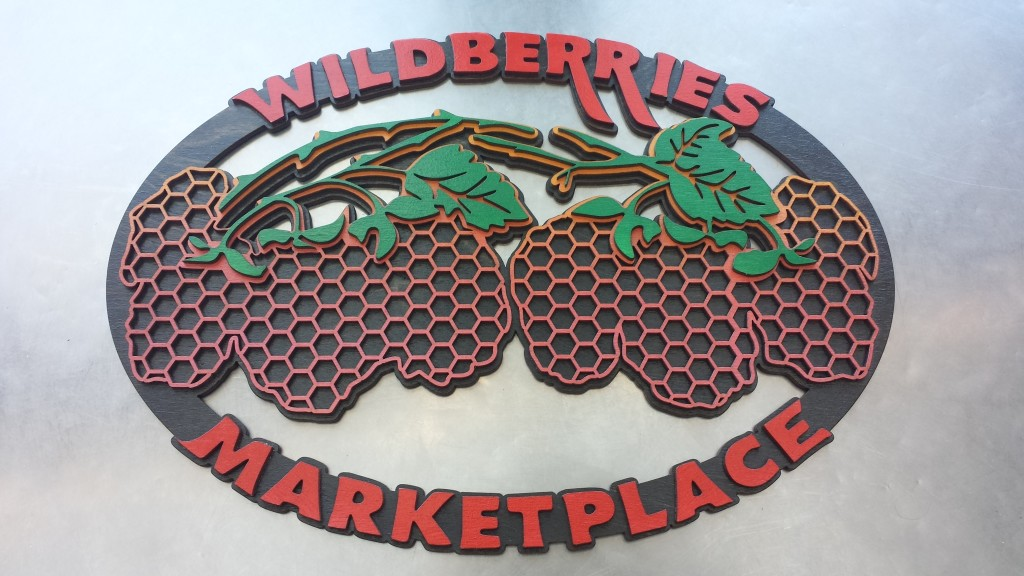 WoodLab Designs Wildberries Marketplace Laser Cut Hand painted signage