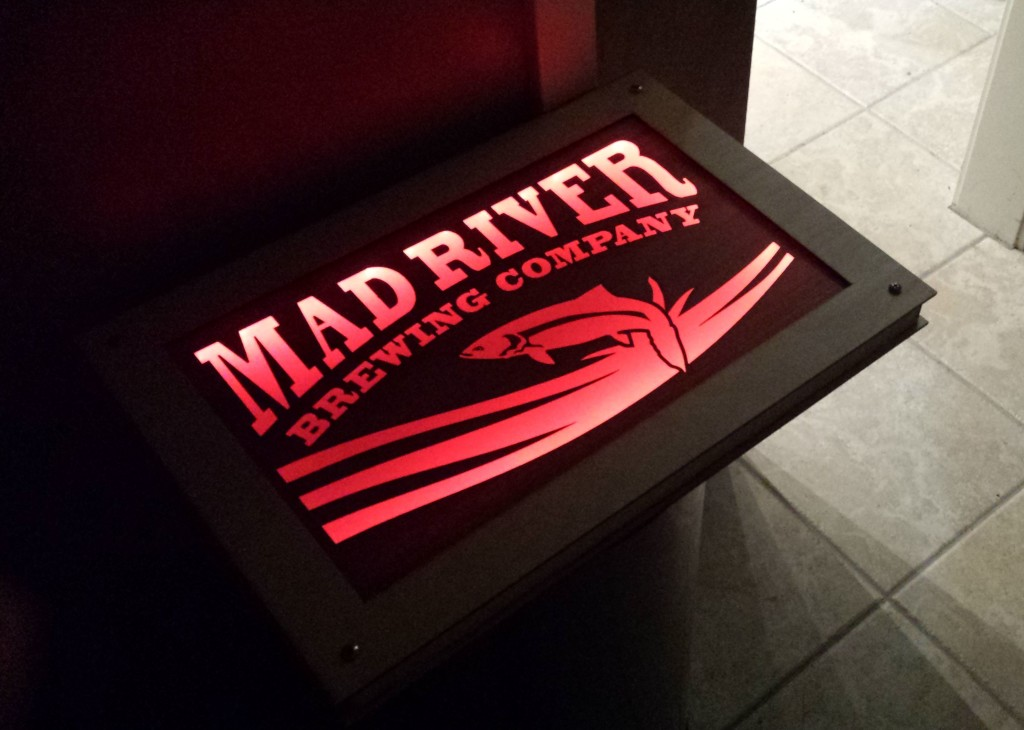 WoodLab Designs Light Up Brewery Wooden Signage