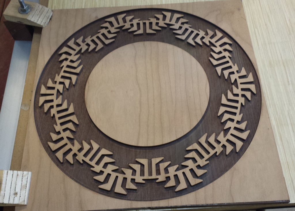 Tribal Circle CNC Wall Mounted Art Piece