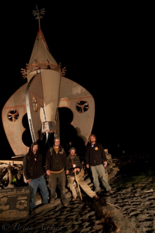 WoodLab Designs Fire Sculpture Crew