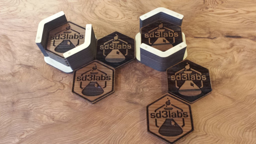 SD3 Labs Custom Branded Coasters