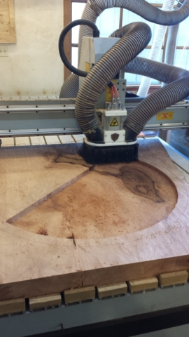 CNC Routing Wood Emblem