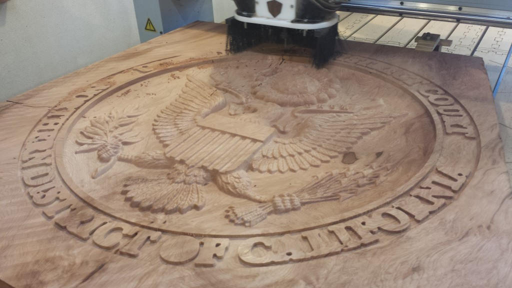 California Courthouse Sculptural Emblem