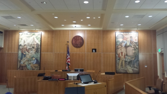 Government Courtroom Installation