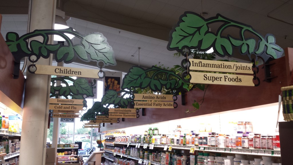 WoodLab Designs Custom Baltic Birch Wildberries Marketplace Signage