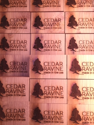 Cedar Fragrance Blocks for Furniture Drawers