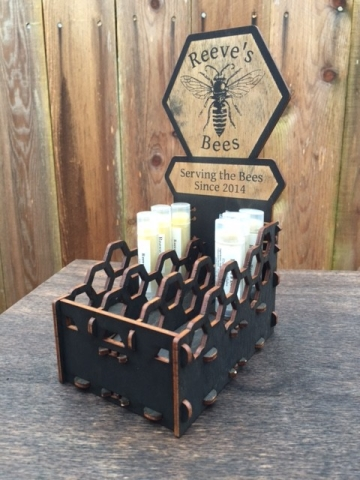Reeve's Bees Lip Balm & Salve Display