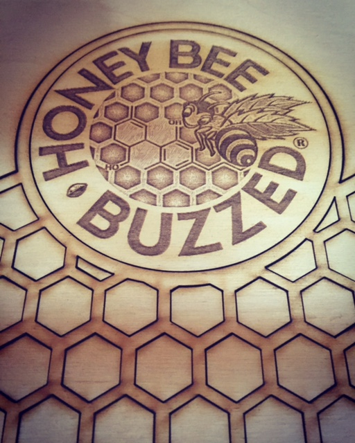 Honey Bee Buzzed CBD product display
