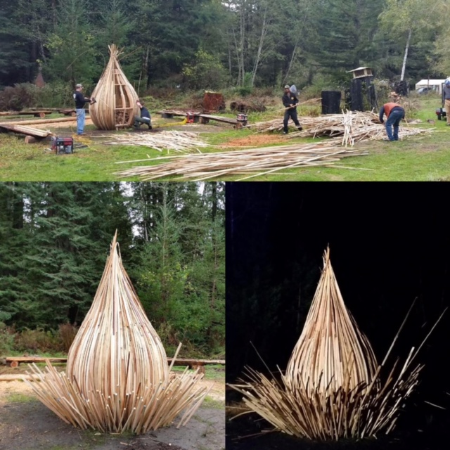 WoodLab Designs Fire Sculpture Preparation
