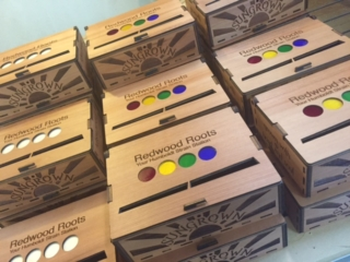 WoodLab Designs Redwood Roots Family Finished Gift Boxes