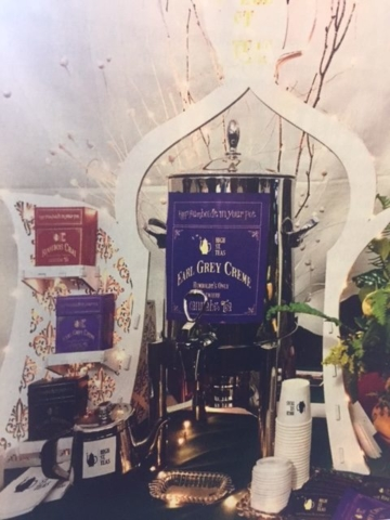 WoodLab Designs High St. Teas Medicinal Marijuana Product Display featured in Emerald Magazine