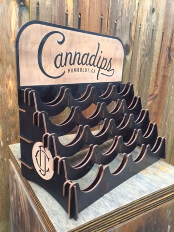 WoodLab Designs Cannadips 20 Tin Baltic Birch Display