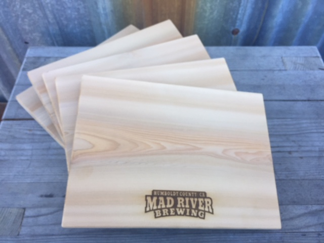 WoodLab Designs Restaurant Quality Custom Laser Etched Cedar Grilling & Hors d'oeuvres Planks
