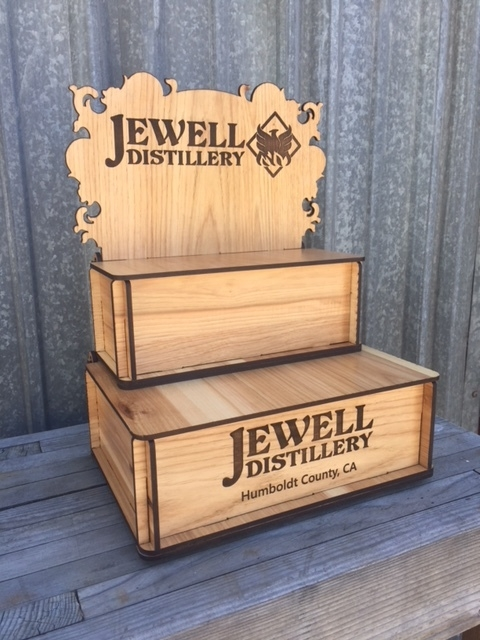 WoodLab Designs Jewell Distillery Trade Show Display