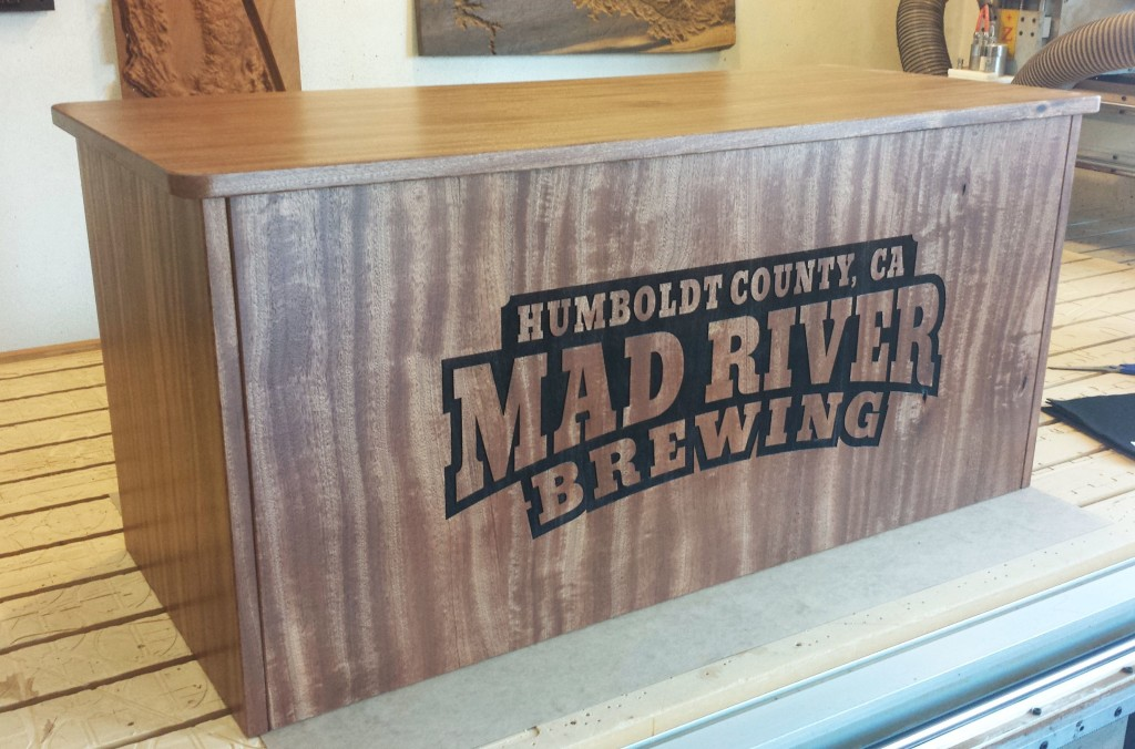WoodLab Designs Mad River Brewing Craft Beer Jockey Box
