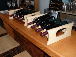 Baltic Birch Wine Display Racks