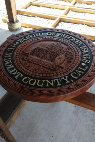 WoodLab Designs Board of Supervisors Sculptural Emblem