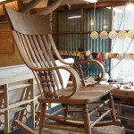 WoodLab Designs Wooden Rocking Chair
