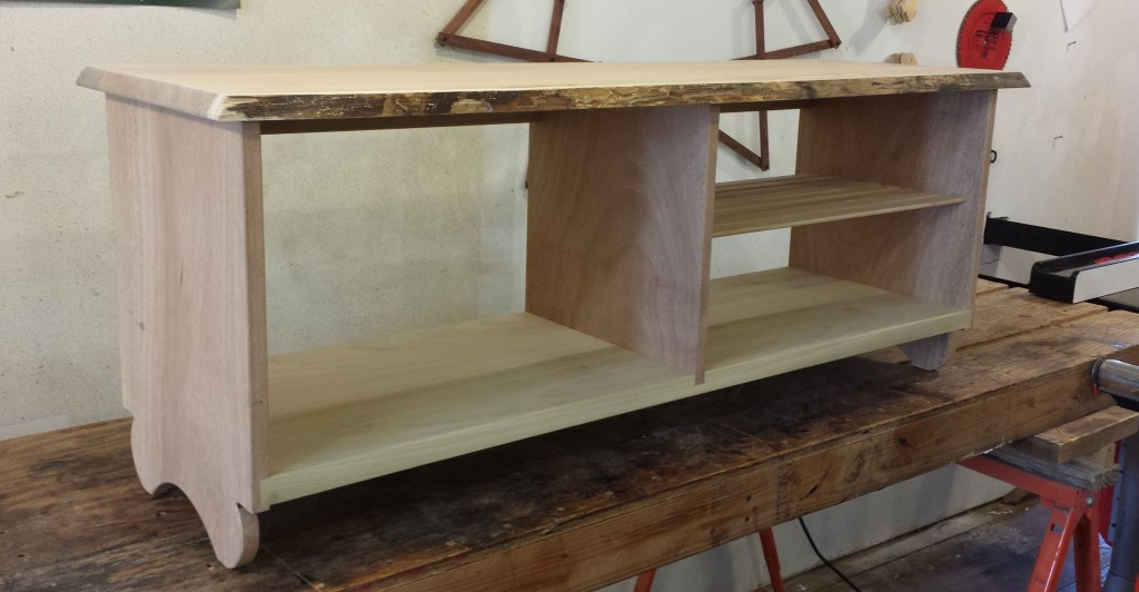 CNC Routed Entertainment Center Furniture