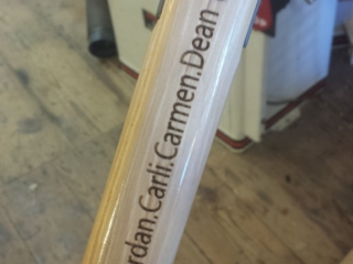 Personalized Laser Etched Tool Handle
