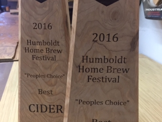 WoodLab Designs Humboldt Home Brew Festival Trophies