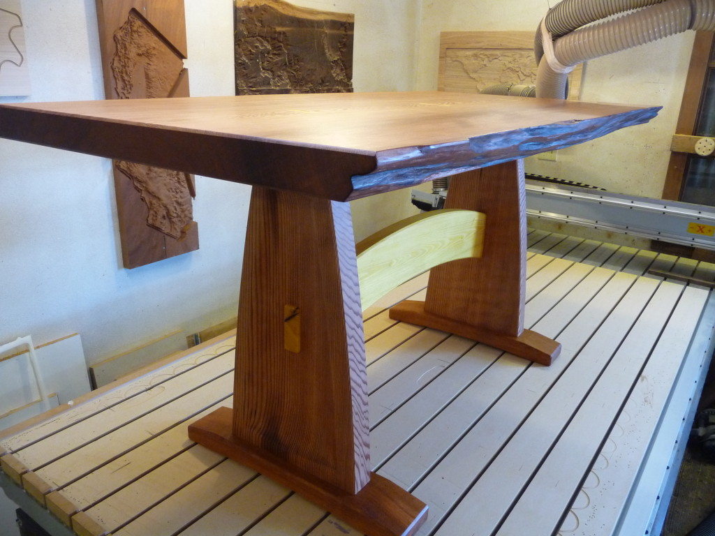 Custom Handcrafted Furniture Dining Room Table