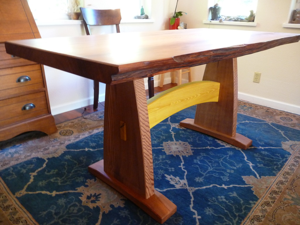 WoodLab Designs Handcrafted Dining Room Table
