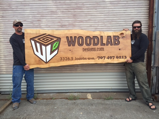 WoodLab Designs Woodworking Experts, Jeremy Harris & Brad Miller