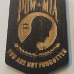 POW MIA Recognition Plaque