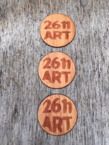 Wooden Stickers custom designed labels for Accessories Entrepreneur